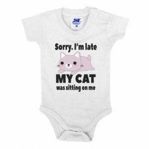 Baby bodysuit Sorry, i'm late