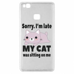 Huawei P9 Lite Case Sorry, i'm late
