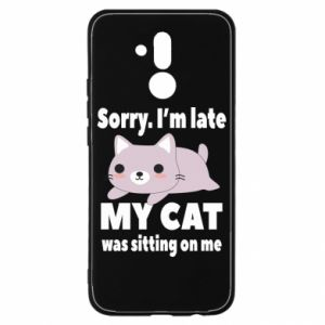 Huawei Mate 20Lite Case Sorry, i'm late