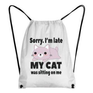 Backpack-bag Sorry, i'm late