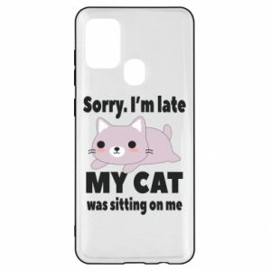 Samsung A21s Case Sorry, i'm late