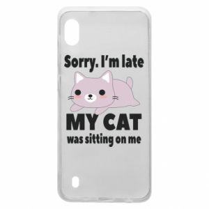 Samsung A10 Case Sorry, i'm late