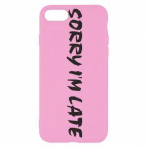 Etui na iPhone SE 2020 Sorry I'm late