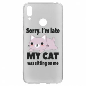 Huawei Y7 2019 Case Sorry, i'm late