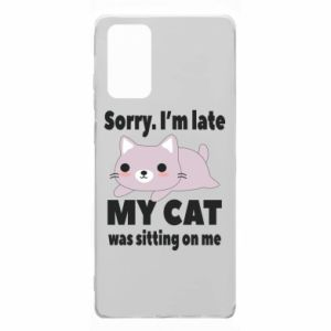 Samsung Note 20 Case Sorry, i'm late