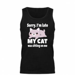 Męska koszulka Sorry, i'm late