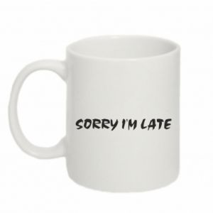 Kubek 330ml Sorry I'm late
