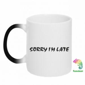 Kubek-kameleon Sorry I'm late