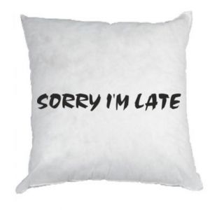 Pillow Sorry I'm late