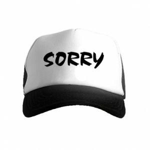 Czapka trucker dziecięca Sorry