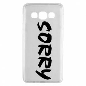 Etui na Samsung A3 2015 Sorry