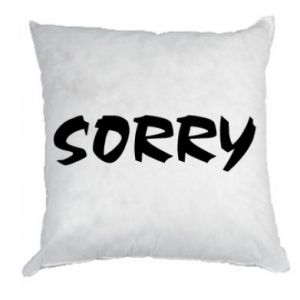 Pillow Sorry
