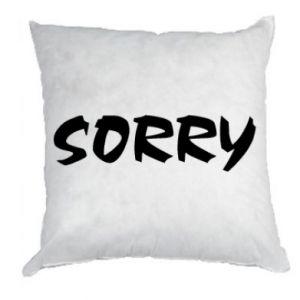 Poduszka Sorry