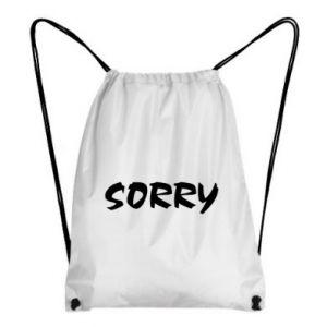 Plecak-worek Sorry