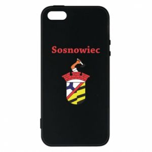 Phone case for iPhone 5/5S/SE Sosnowiec this is my city
