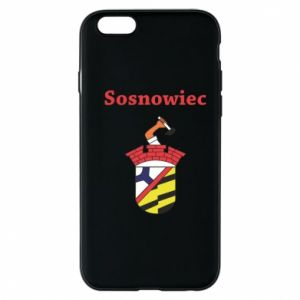 Phone case for iPhone 6/6S Sosnowiec this is my city
