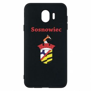 Phone case for Samsung J4 Sosnowiec this is my city