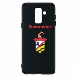 Etui na Samsung A6+ 2018 Sosnowiec to moje miasto - PrintSalon