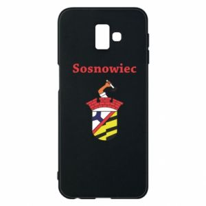 Etui na Samsung J6 Plus 2018 Sosnowiec to moje miasto - PrintSalon