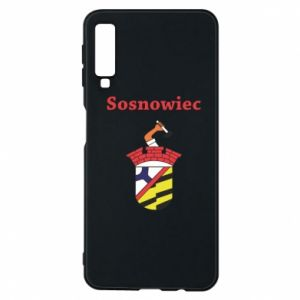 Phone case for Samsung A7 2018 Sosnowiec this is my city