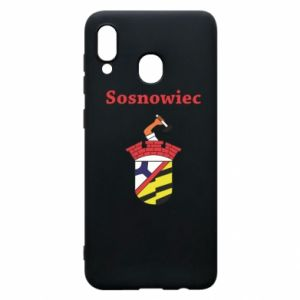 Phone case for Samsung A30 Sosnowiec this is my city