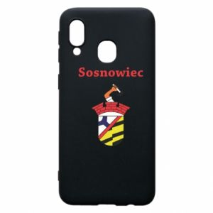 Phone case for Samsung A40 Sosnowiec this is my city