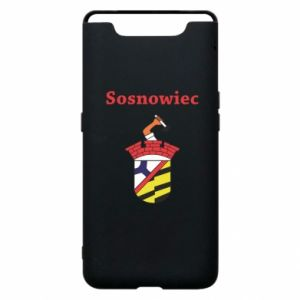 Phone case for Samsung A80 Sosnowiec this is my city