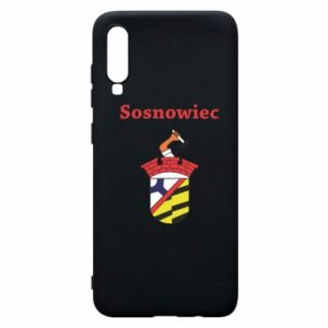 Phone case for Samsung A70 Sosnowiec this is my city