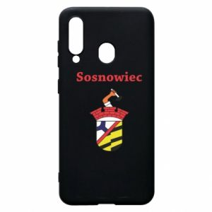 Phone case for Samsung A60 Sosnowiec this is my city