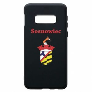 Phone case for Samsung S10e Sosnowiec this is my city