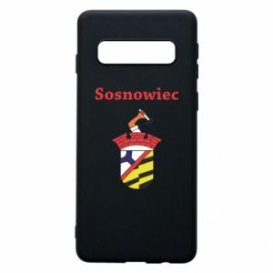 Phone case for Samsung S10 Sosnowiec this is my city