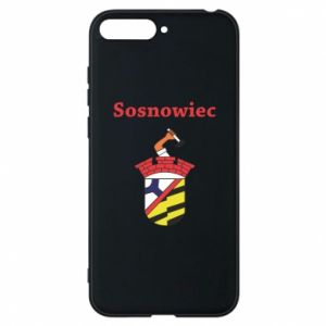 Phone case for Huawei Y6 2018 Sosnowiec this is my city