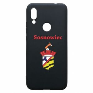Phone case for Xiaomi Redmi 7 Sosnowiec this is my city