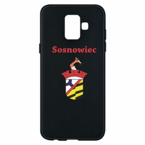 Phone case for Samsung A6 2018 Sosnowiec this is my city