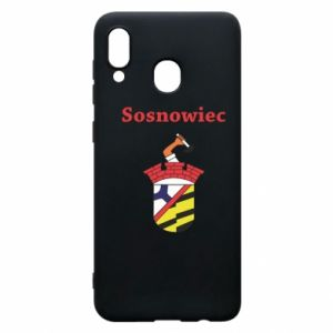 Phone case for Samsung A20 Sosnowiec this is my city