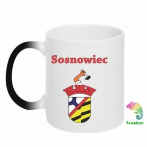 Chameleon mugs Sosnowiec this is my city