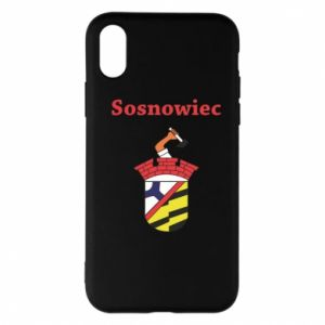Phone case for iPhone X/Xs Sosnowiec this is my city