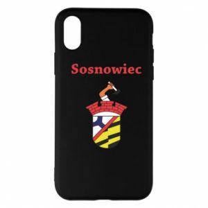 Etui na iPhone X/Xs Sosnowiec to moje miasto - PrintSalon