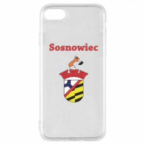 Phone case for iPhone 8 Sosnowiec this is my city