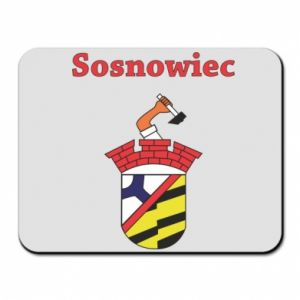 Mouse pad Sosnowiec this is my city