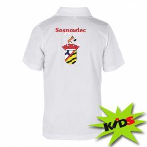 Dziecięca koszulka polo Sosnowiec to moje miasto - PrintSalon