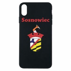 Phone case for iPhone Xs Max Sosnowiec this is my city