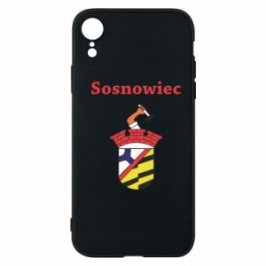 Etui na iPhone XR Sosnowiec to moje miasto - PrintSalon