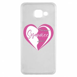 Samsung A3 2016 Case Sosnowiec. My city is the best