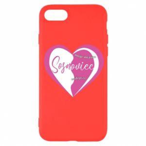 iPhone SE 2020 Case Sosnowiec. My city is the best