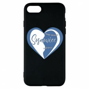 iPhone 8 Case Sosnowiec. My city is the best