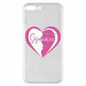 iPhone 8 Plus Case Sosnowiec. My city is the best