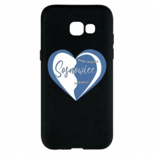 Samsung A5 2017 Case Sosnowiec. My city is the best