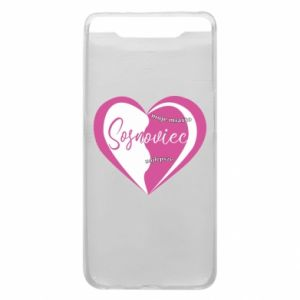 Samsung A80 Case Sosnowiec. My city is the best