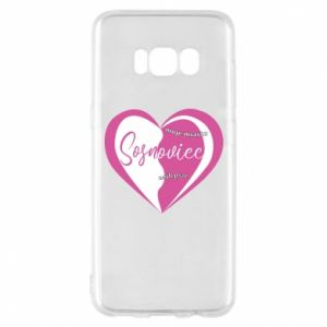 Samsung S8 Case Sosnowiec. My city is the best